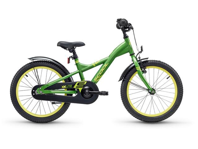 s'cool XXlite 18 - Vélo enfant - Steel vert